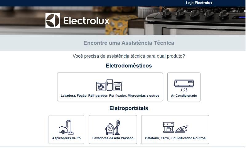 0800 electrolux